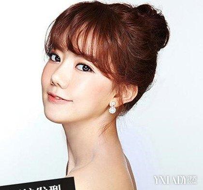 韩式空气感新娘发型图片 打造三月美新娘图片
