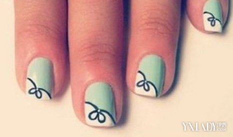 简约美甲短指甲图片展示 短指甲女生不再抱怨啦