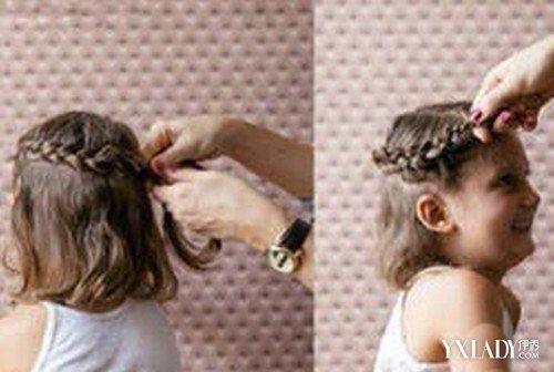 【图】儿童盘头发型步骤 6步轻松扎出完美公主头