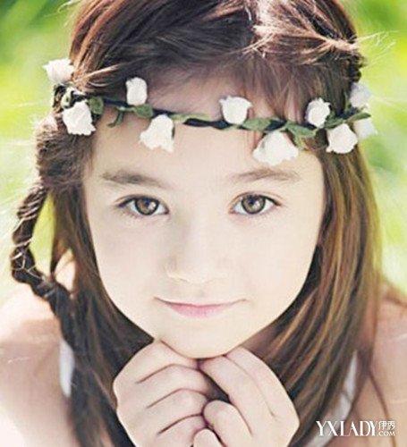 【图】小女孩介绍发型扎法适合4种跳舞v发型的短发姐姐小笑容图片