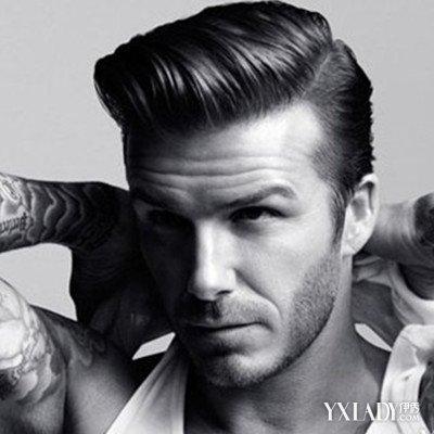 【图】欧美男士发型三七开图片 引领今夏流行时尚图片