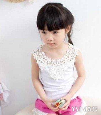 盘点各式小孩编发发型 打造萌爱小仙女