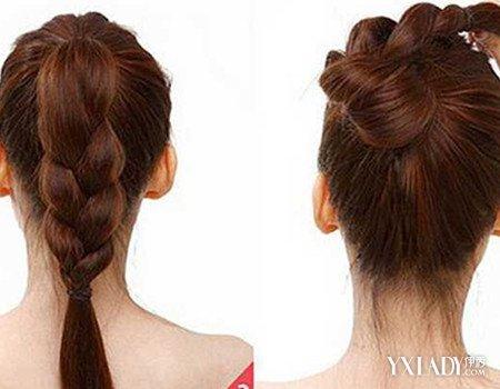 【图】直发丸子头扎法图解 六个步骤轻松搞定丸子头