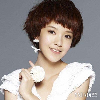 【图】中学女生超短发型