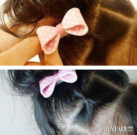 【图】夏季小女孩的头发扎法图片 两种扎法让你家宝贝