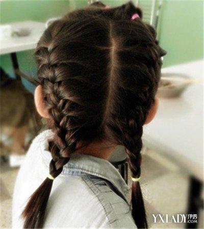 夏季儿童编发发型大推荐 女童必学的清凉发型图片