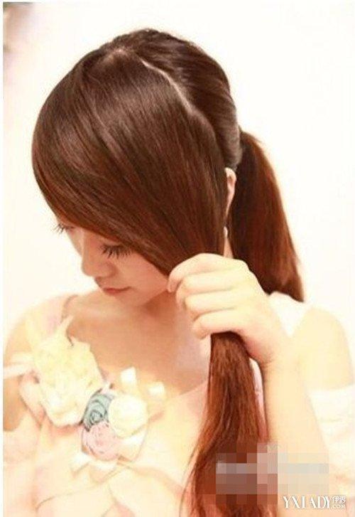 长刘海辫子发型图片 教你夏季简单韩式斜刘海编辫子发型