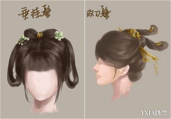 古代皇后的头发怎样扎 多种发型带你看图片