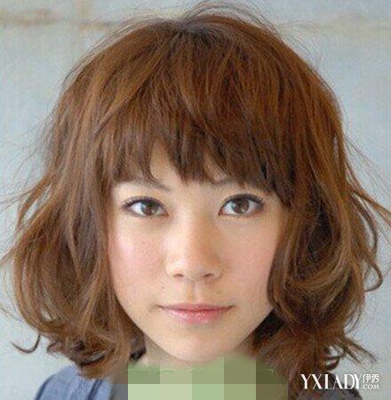 【图】v发型齐刘海国字脸发型四款发型让你萌发型潮流有哪些图片