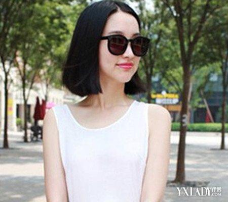 女生直�yaY�Y��&�3��_【图】女生直发型短的图片图片