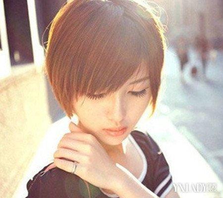 【图】森系短发美女头像