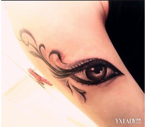 在欧美纹身当中也是一个重要的题材之一,其中有上帝之眼,上帝之眼