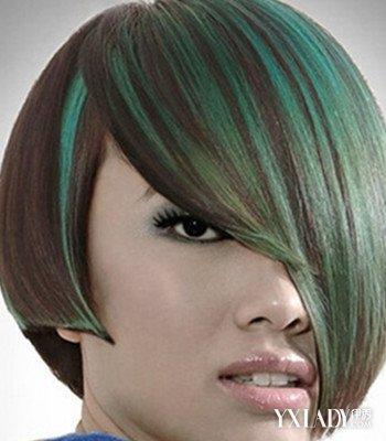 齐耳沙宣烫发发型图片展示图片