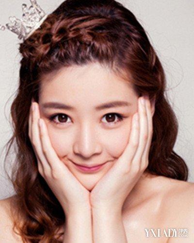 【图】韩式新娘发型盘点 让你的造型在婚礼上更加仙气图片