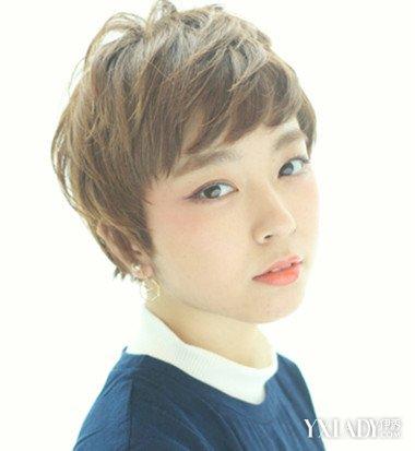 霸气短发女生头像图片 帅气女性短发显出你的清纯魅力图片
