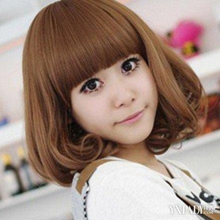 【图】栗子色头发图片 什么样的人适合栗色头发?