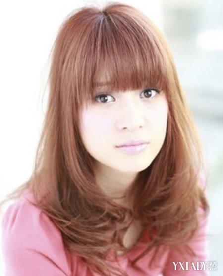 【图】韩版中图片烫发发型造型烫卷更显俏皮头发小孩图片大全大全图片长发图片图片大全图片
