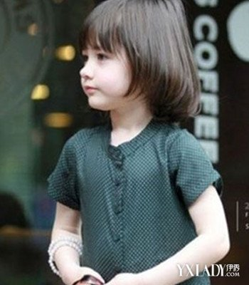 女孩儿童发型短发图片 打造可爱小童星图片