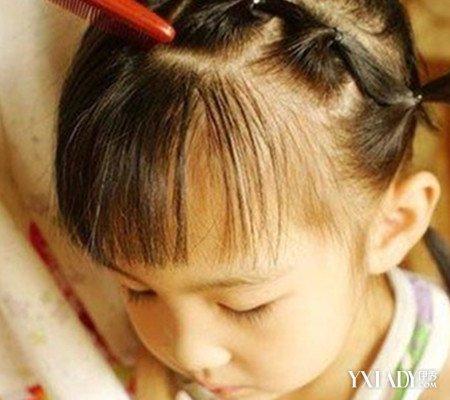 【图】最新小女孩发型适合发型6步教你扎出甜脑门头发少绑扎什么男生步骤图片
