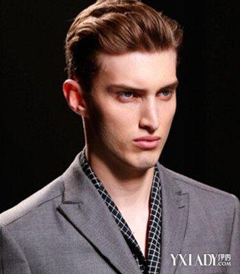 【图】学生大背头潮男发型图片 颇有男士绅士范图片