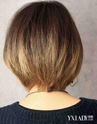【图】短发背面图片欣赏图片