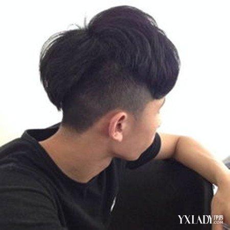 【图】男生后脑倒三角发型图片 帅气个性又时尚图片