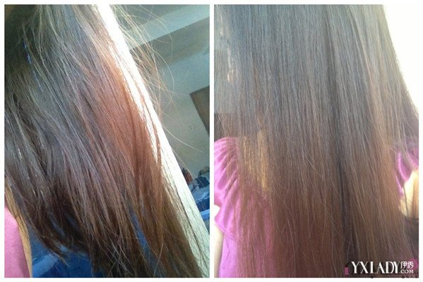 头发软化前后效果图欣赏 揭秘软化后的头发效果