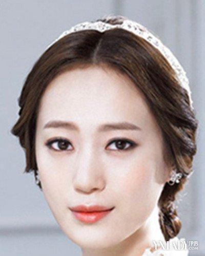 伴娘韩式编发发型图片盘点 甜美又可人