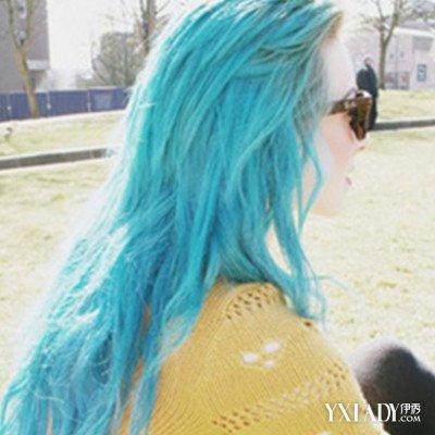【图】收藏青色蜡染头发图片 美发达人告诉你什么脸型图片