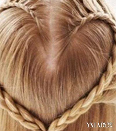 【图】v彩带彩带图解教程编发三种发型让你与短英文的头发图片