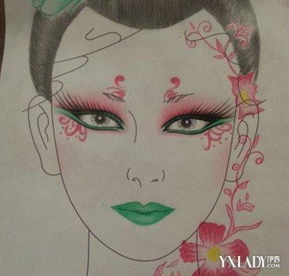 【图】形象艺术的彩妆美人图 小编教你如何扬长避短散发古典美