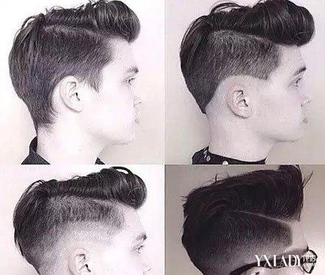 18岁男生花纹发型