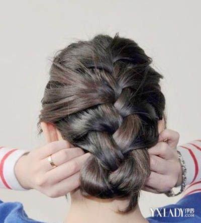 小女孩儿童编发发型