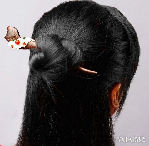 多种用簪子盘头发的图解 各种发型都吸睛