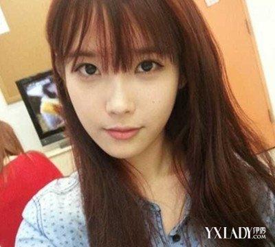 【图】唯美齐刘海长头发女头像 女生最爱的恬静长发图片