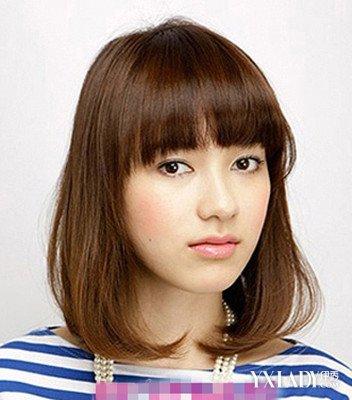 【图】长脸高额头女生发型 几款完美发型拯救不完美脸型