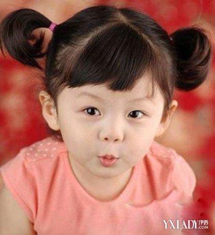 【图】儿童中短发发型扎法图片