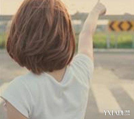 潮流短发背影图片欣赏 四种背影甜美又清新