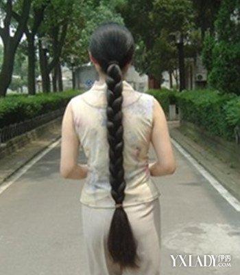 【图】分享辫子女大图片男孩四款辫子回头率长发短发怎么剪好看图片