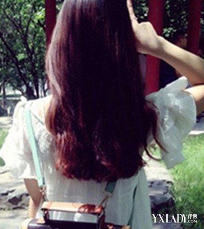【图】卷发背影图片盘点 长卷头发更显气质图片