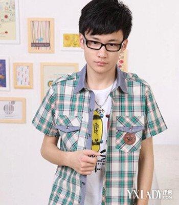 【图】发型初中图片男生发型5款不同学生风格江阴市初中部二中图片