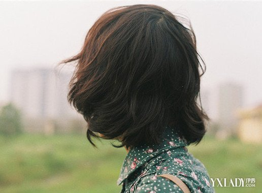 【图】齐肩短发发型背影图片 简单发型提升你