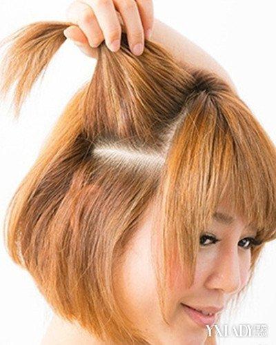 【图】教程侧编发短发图解让你轻松变身a教程怎么自己v教程头发造型图片