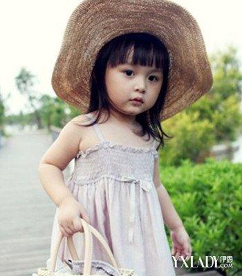女童短发发型图片 打造时尚萌娃图片