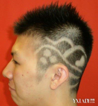 发型男短发两边剃掉 四款短发打造时尚型男图片