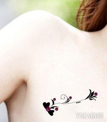 女生纹身小清新图案欣赏 4款时尚纹身任你选