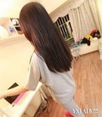 【图】长发直发背后发型图片欣赏 四款发型背影美到哭图片