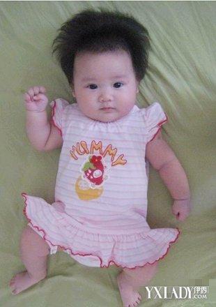 【图】一岁半女宝宝发型图片