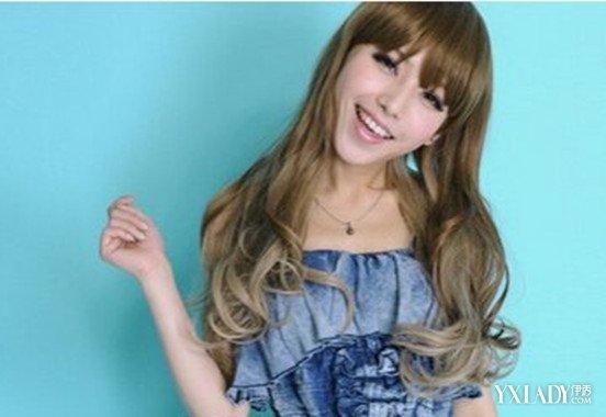 【图】时尚图片头发青色女士颜色女神发型打发型款青色图片