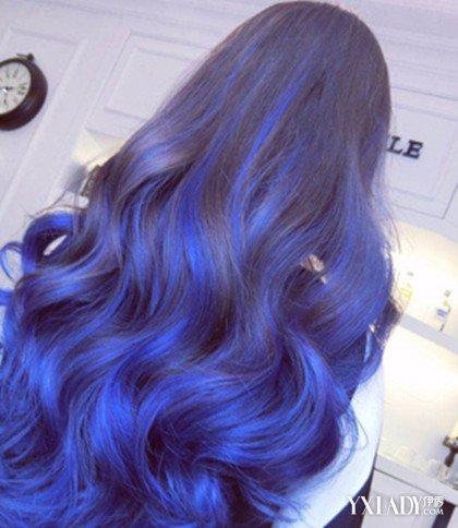 梦到头发变成蓝色